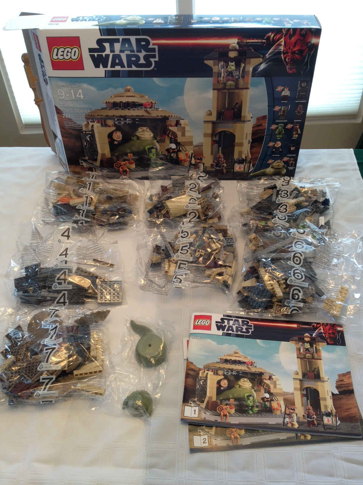 Lego Star Wars Jabbas Palace 9516 Brick Radar