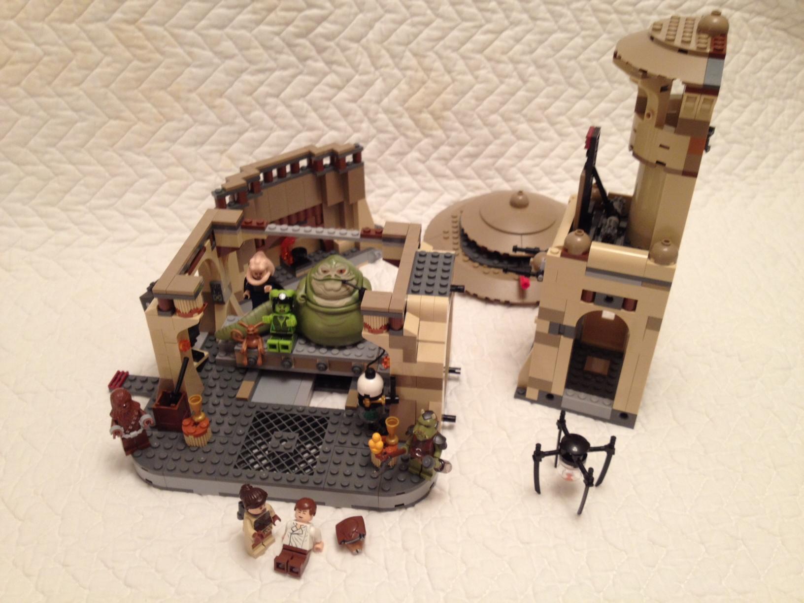 Lego Star Wars Jabbas Palace 9516 Brick Radar