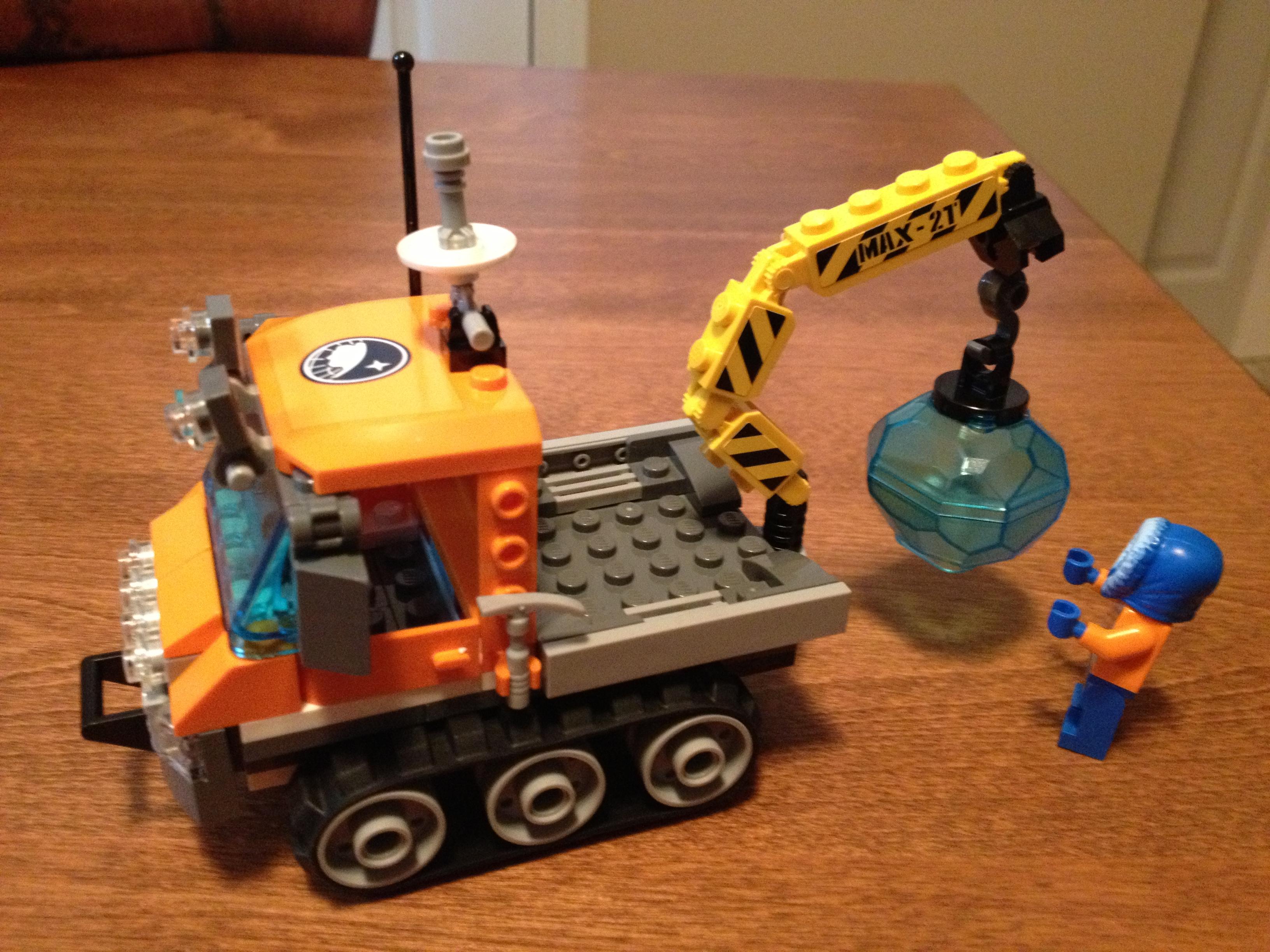 Lego City Arctic Ice Crawler 60033 Brick Radar