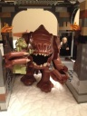 The Rancor and his snack