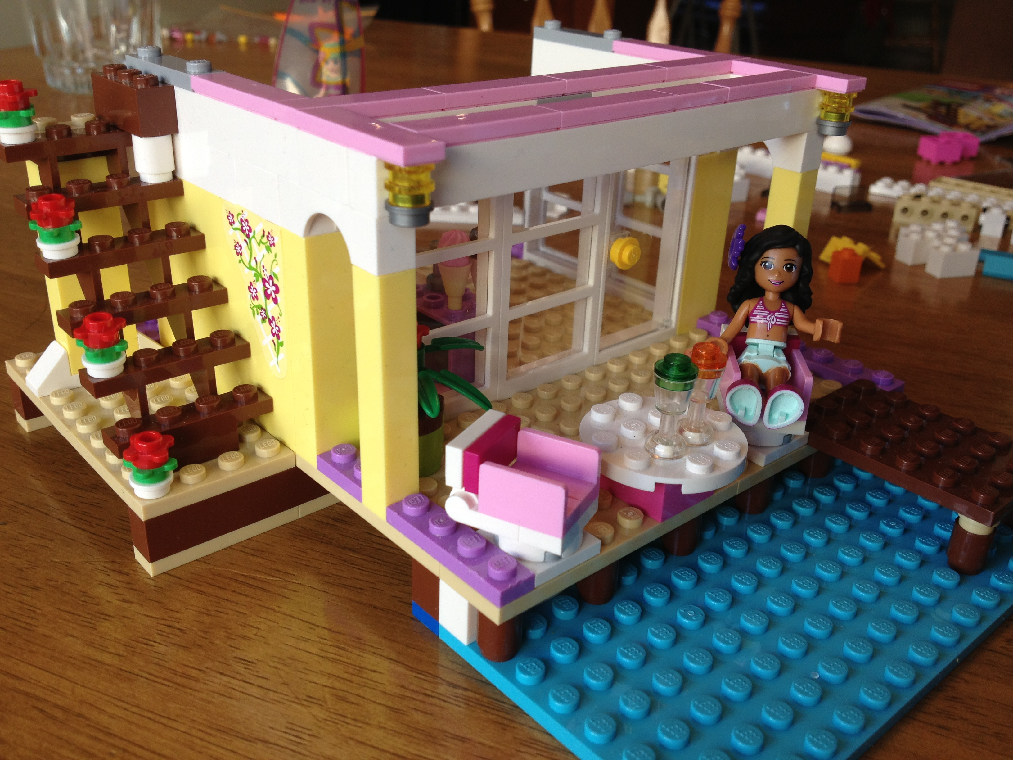 Lego Friends Stephanie S Beach House 41037 Brick Radar