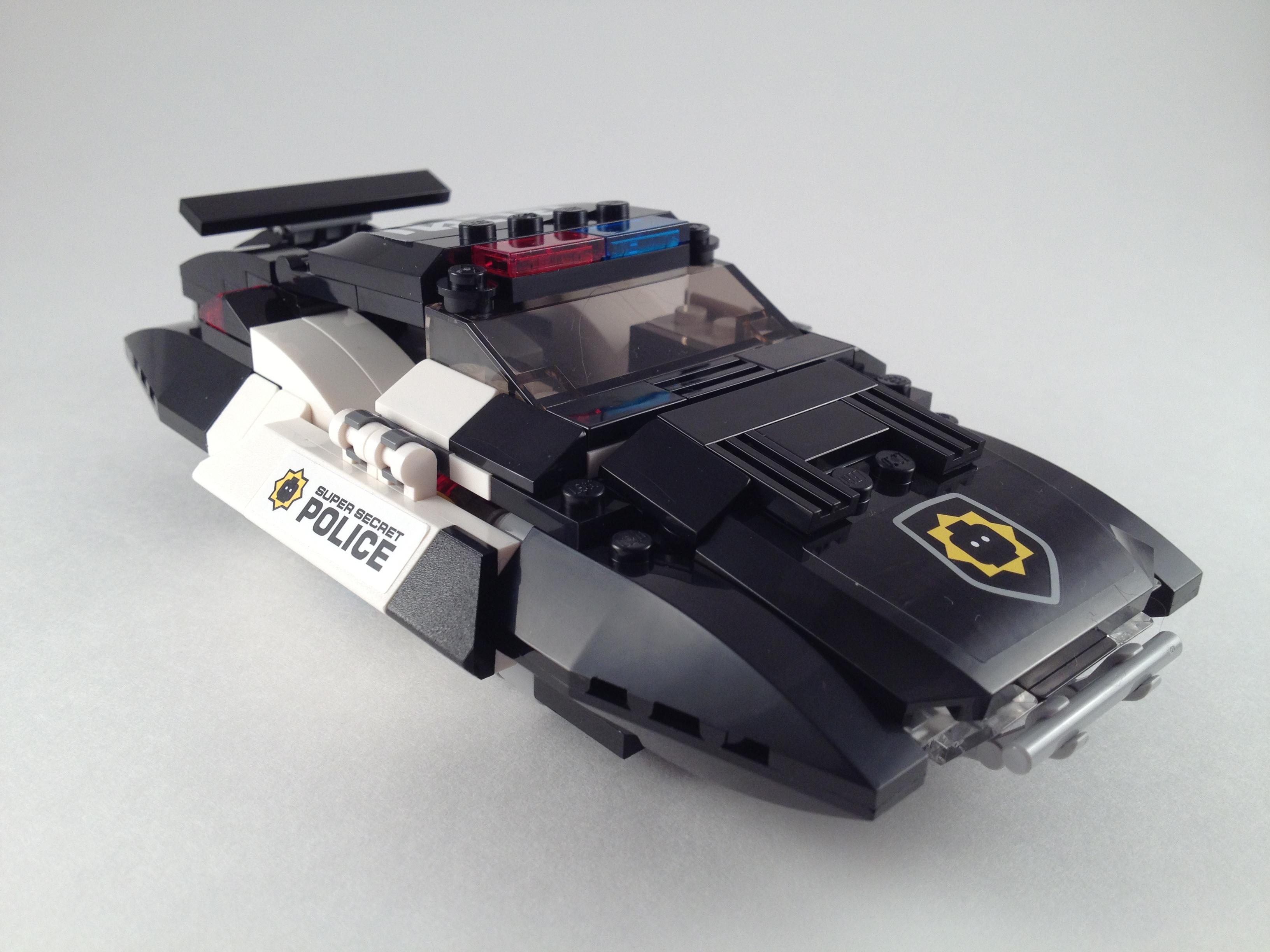 LEGO The LEGO Movie Bad Cop Pursuit (70802) | Brick Radar