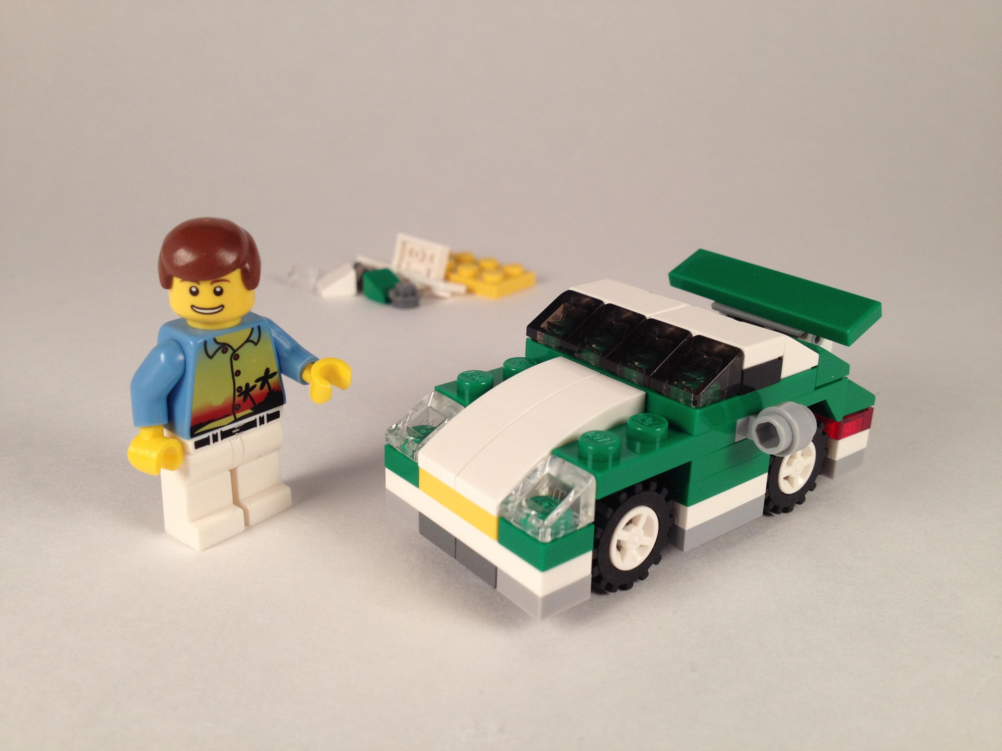 LEGO Creator Mini Sports Car (6910)   Brick Radar