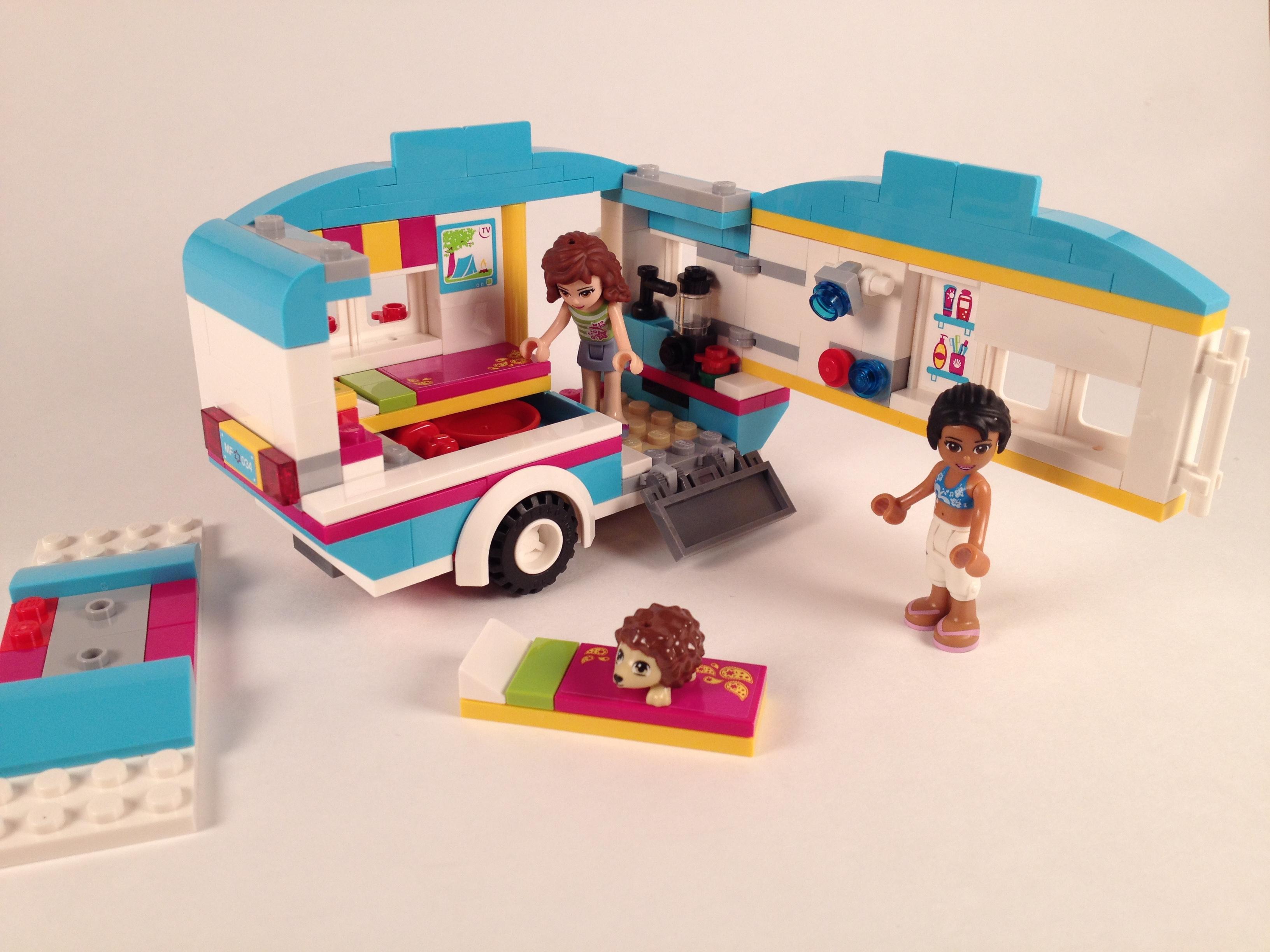 Lego Friends Summer Caravan 41034 Brick Radar