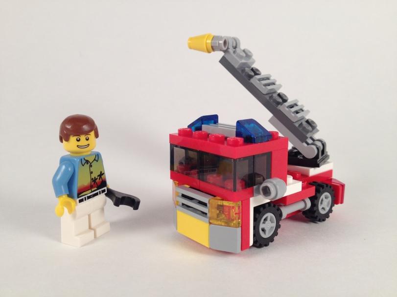 Mini Scale Fire Truck