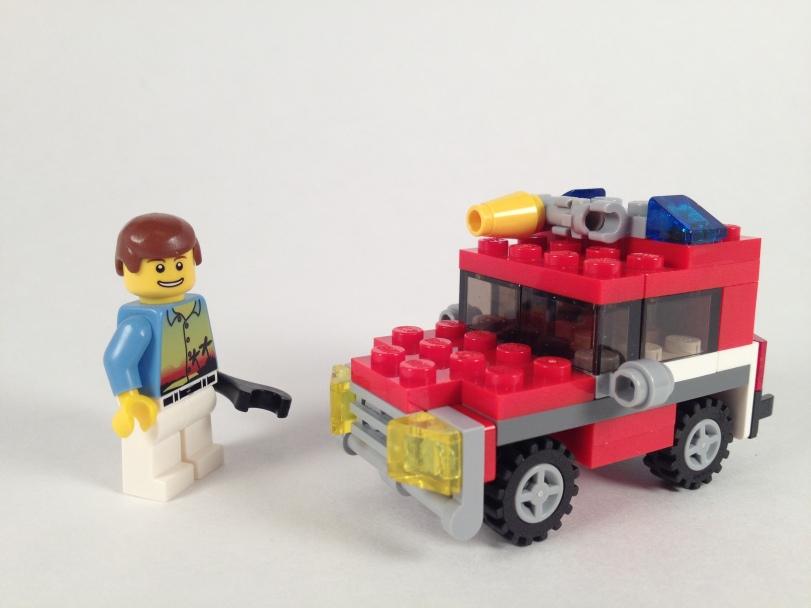 Mini Scale Support Car