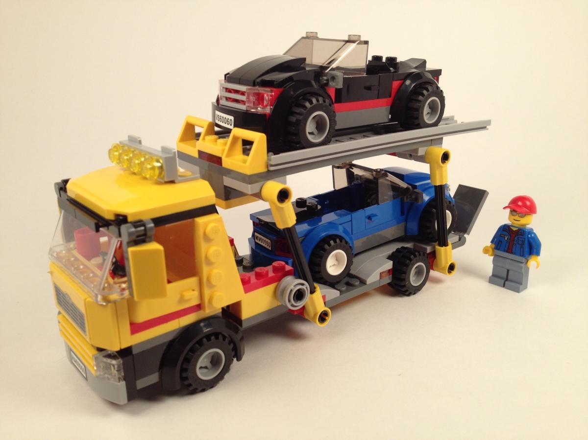Lego city auto transporter 60060 brick radar for Brick city motors reviews
