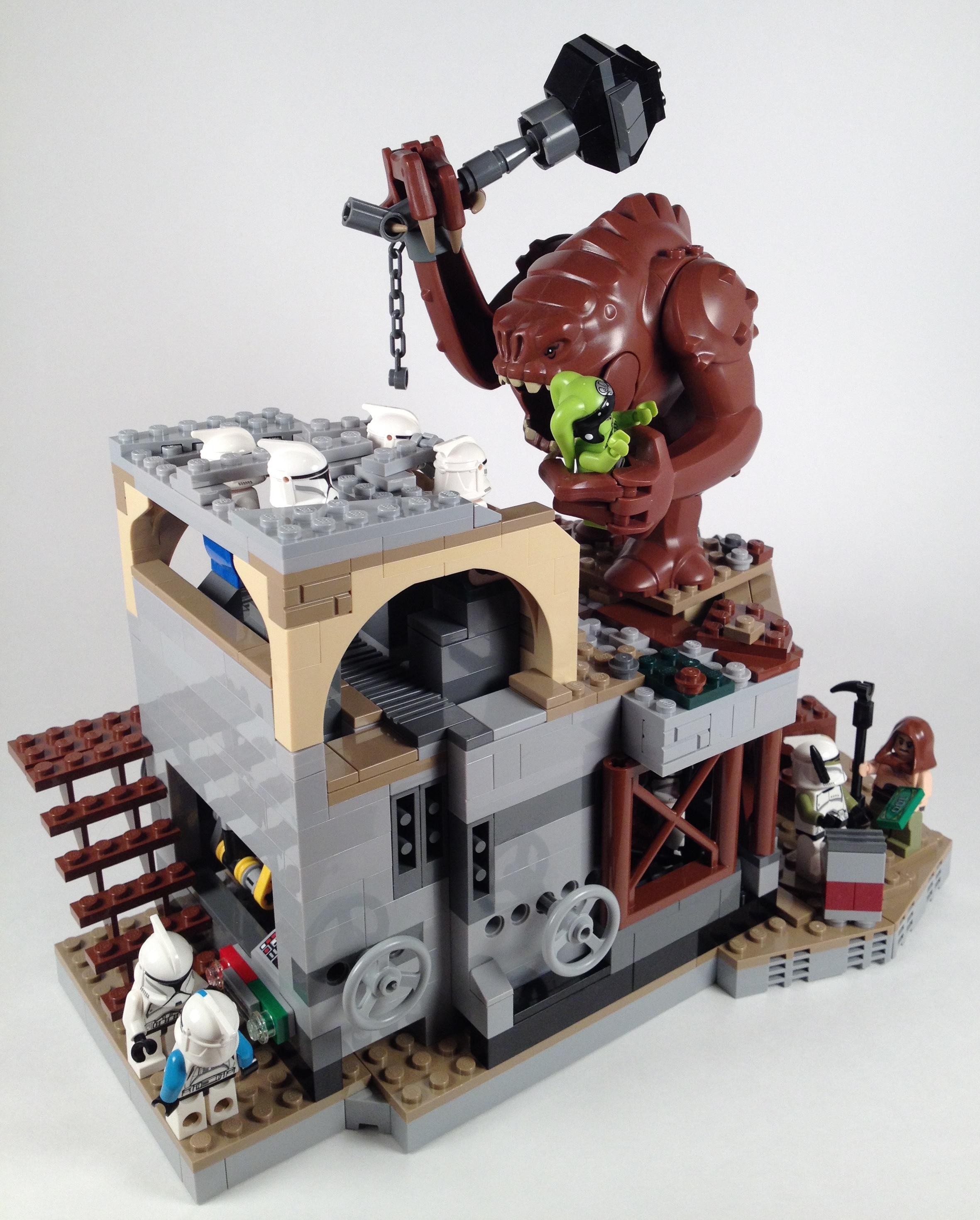 Original Creation Whack A Clone Brick Radar