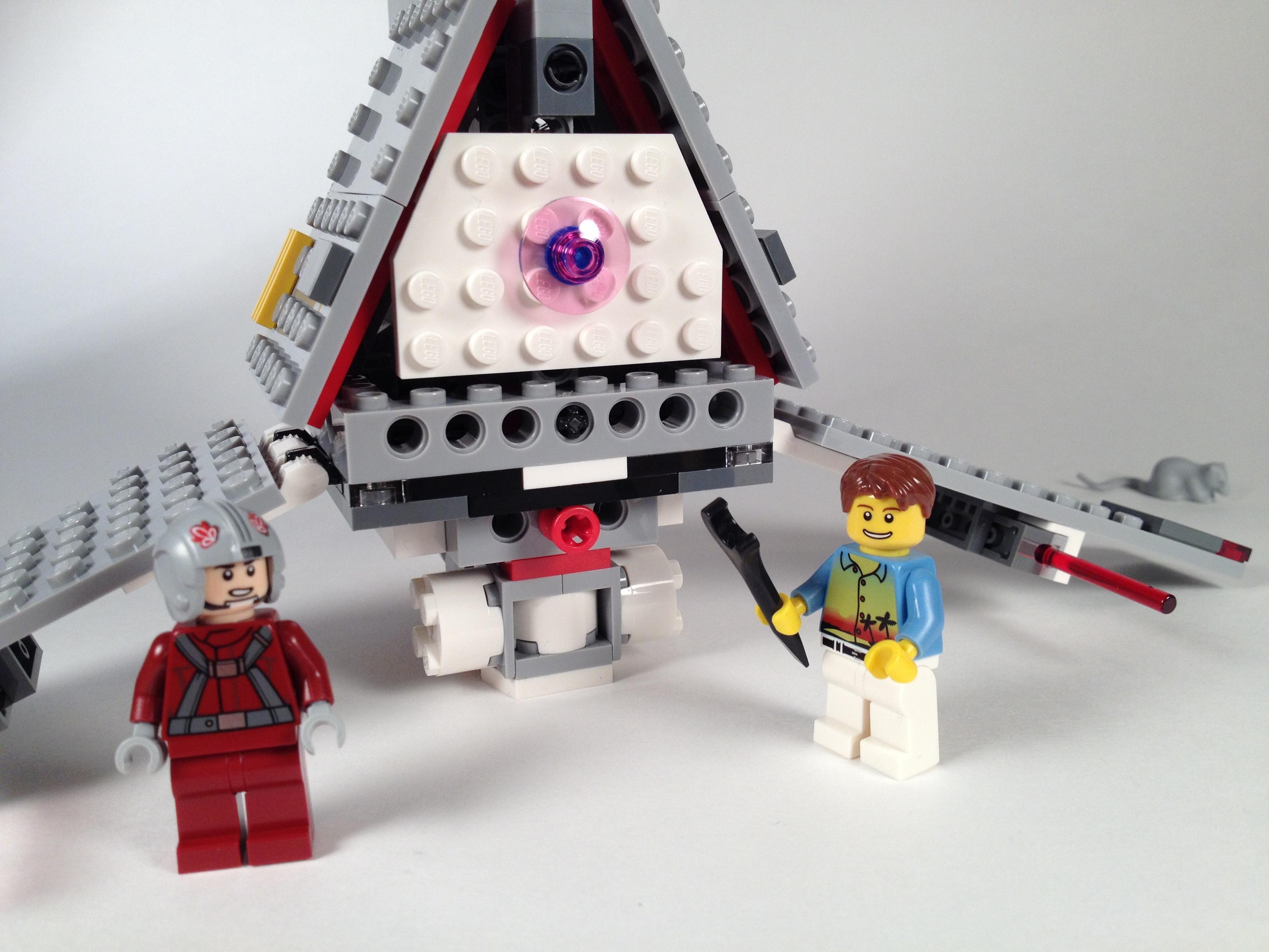 NEW LEGO Star Wars 75081 T-16 Skyhopper Tatooine Set *NO MINIFIGURES*