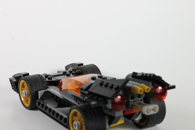 Back of Batmobile.